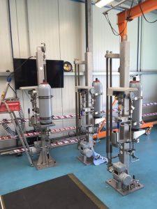 Multible Plan 53 B beeing pressure tested